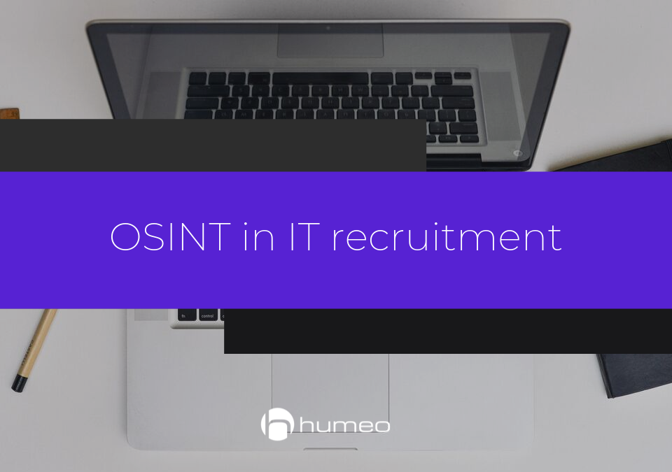 OSINT in recruitment