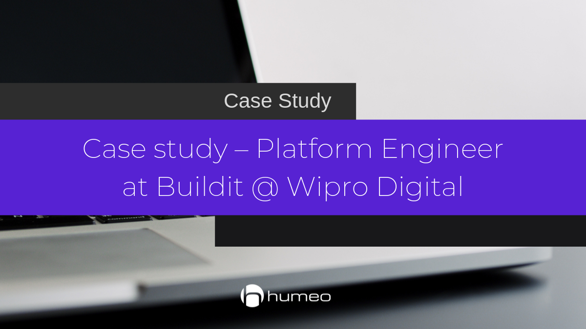 Case Study - platform engineer at buildit