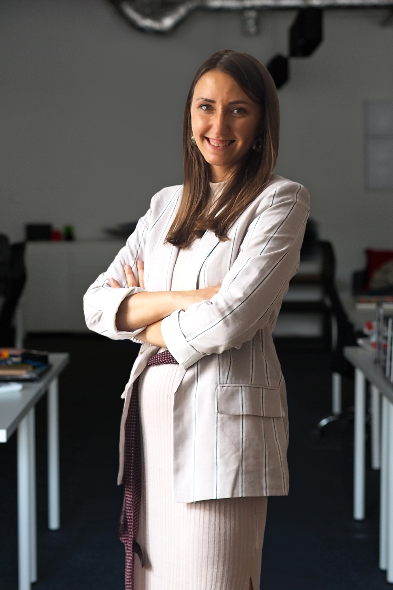 Zdjęcie biznesowe w biurze w Krakowie - Team Leaderka zespołu rekrutacyjnego IT - Sandra Bąk
