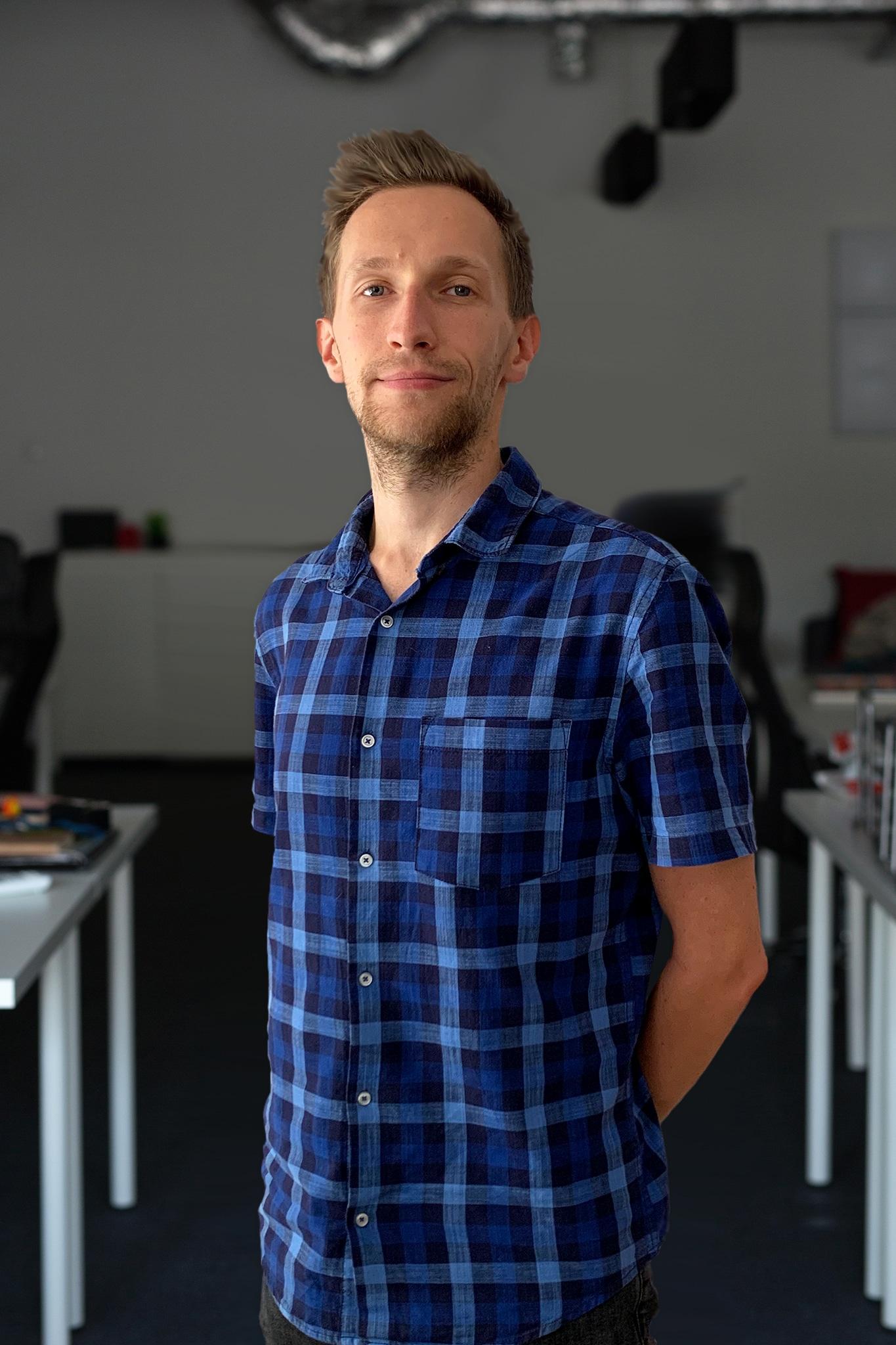 Zdjęcie profilowe rekrutera IT w biurze Humeo w Krakowie - Michał Magiera