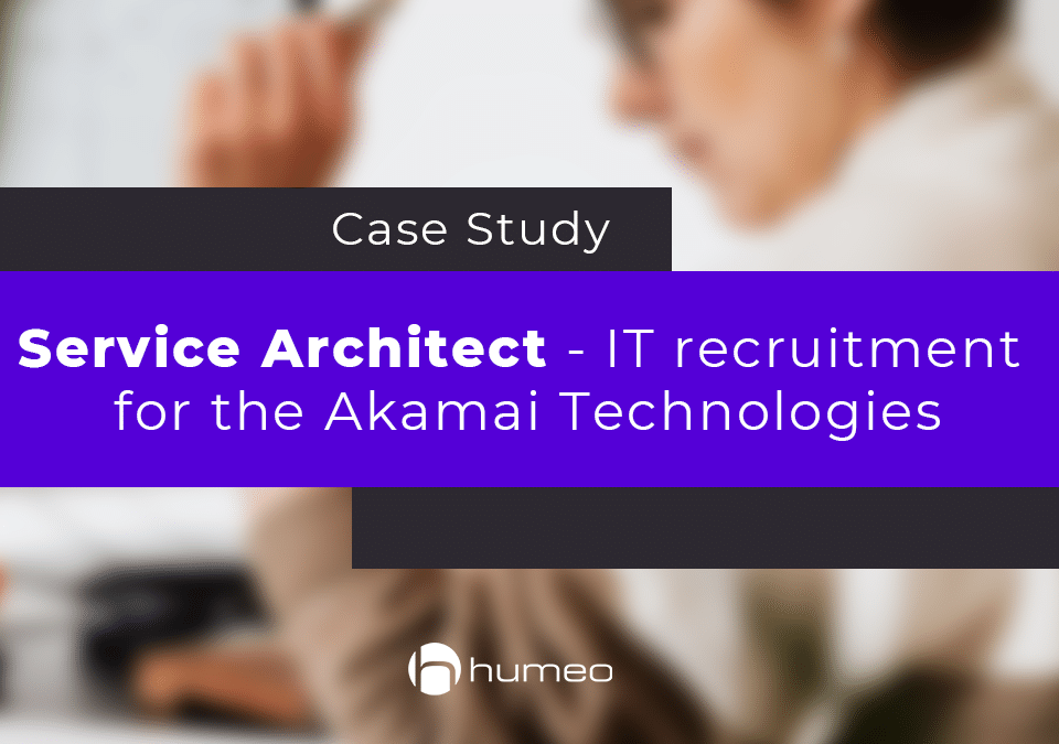 Service Architect - IT recruitment for the Akamai Technologies