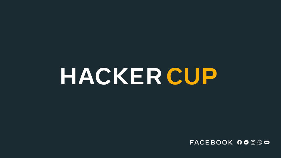 Facebook Hacker Cup competetive programming logo