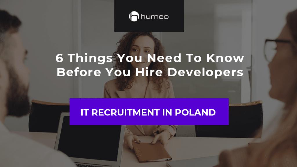 IT recruitment in Poland