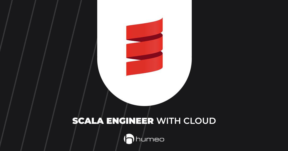 Scala Engineer with cloud oferty pracy IT - Humeo