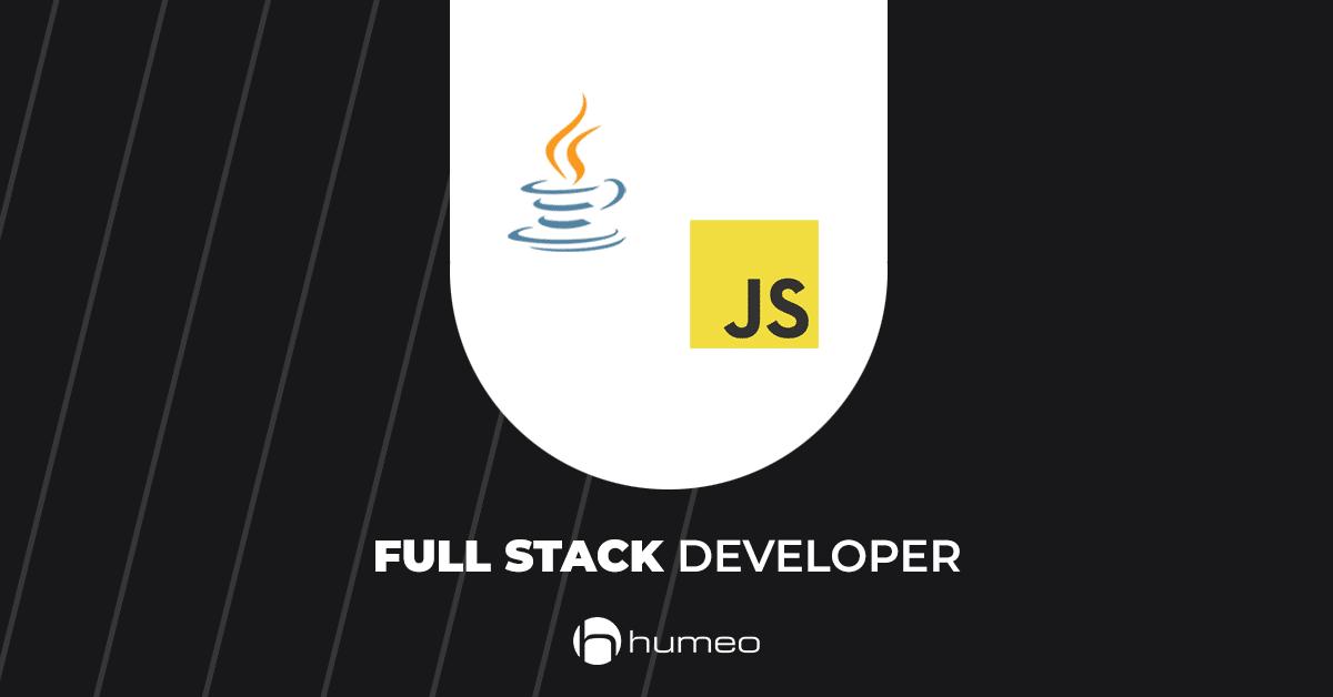 Full Stack Developer Java JavaScript IT job offers - Humeo