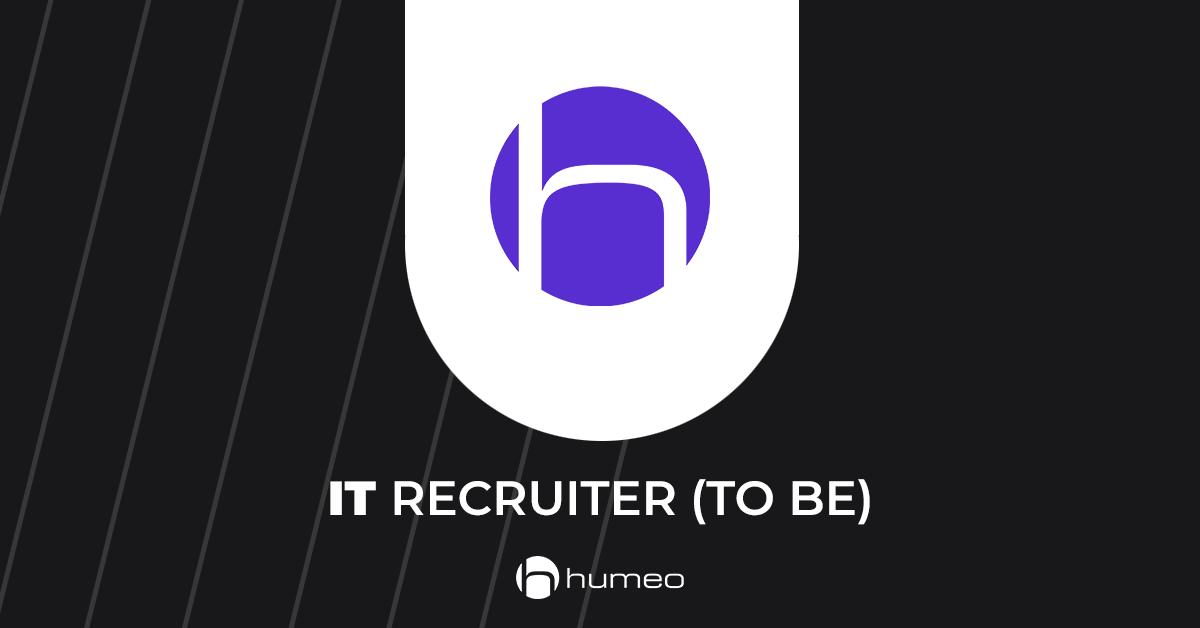 IT Recruiter IT job offers - Humeo