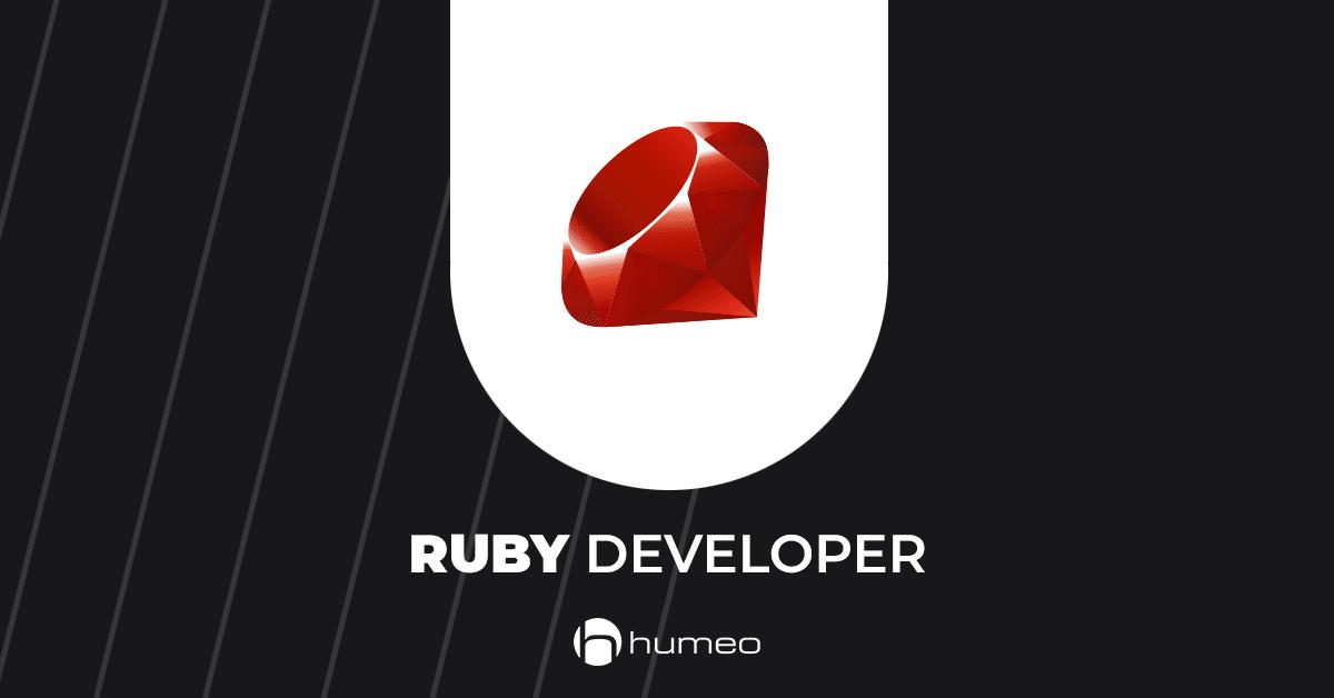 Ruby Developer IT job offers - Humeo