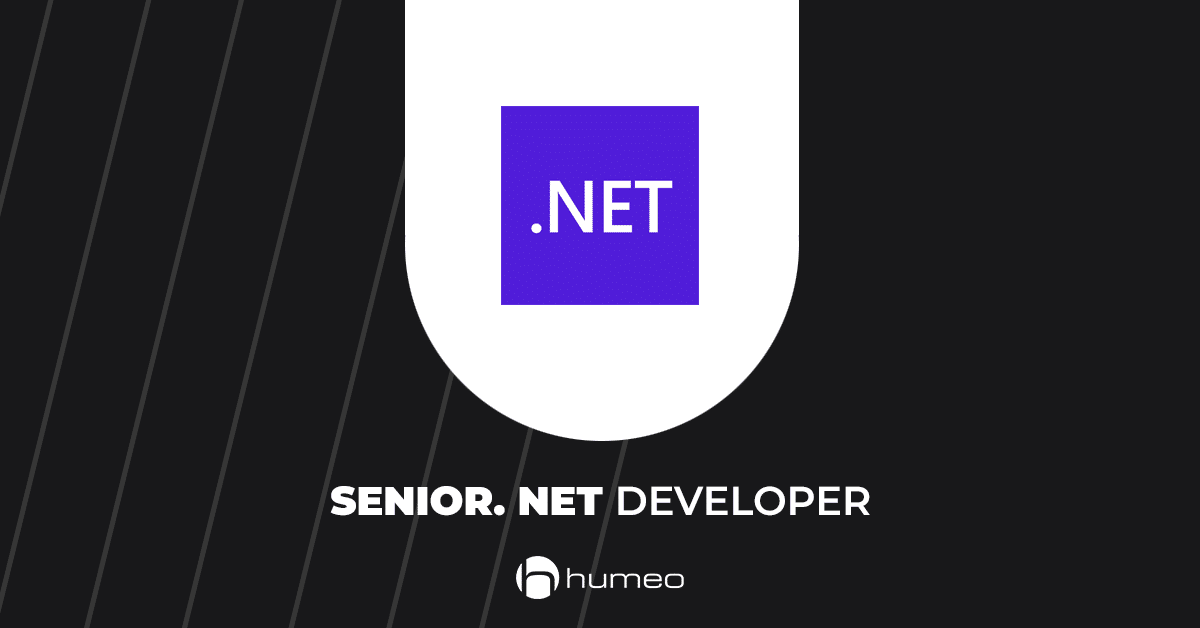 Senior dotNet Developer IT job offers - Humeo