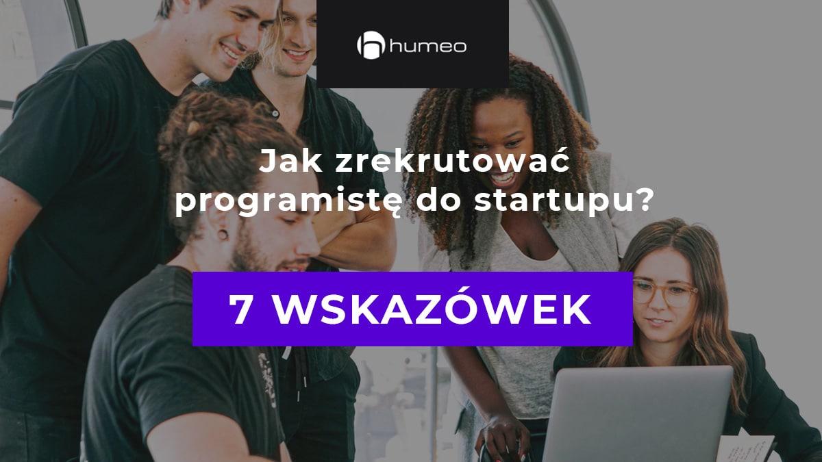 Rekrutacja programisty do startupu