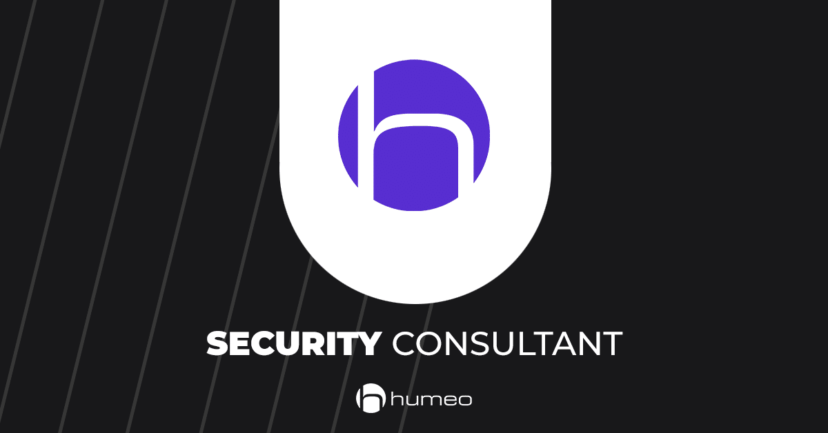 Security Consultant oferty pracy IT - Humeo
