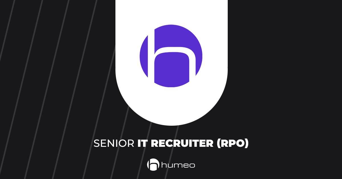 Senior IT Recruiet RPO oferty pracy IT - Humeo