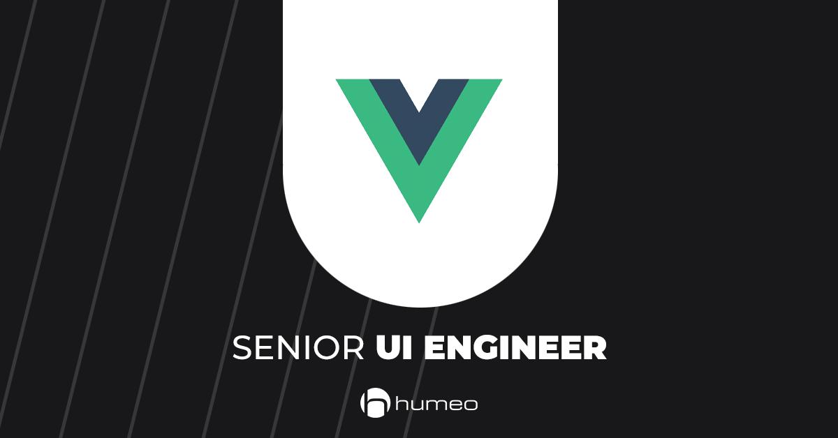 Senior UI Engineer Vue js - IT job offers - Humeo